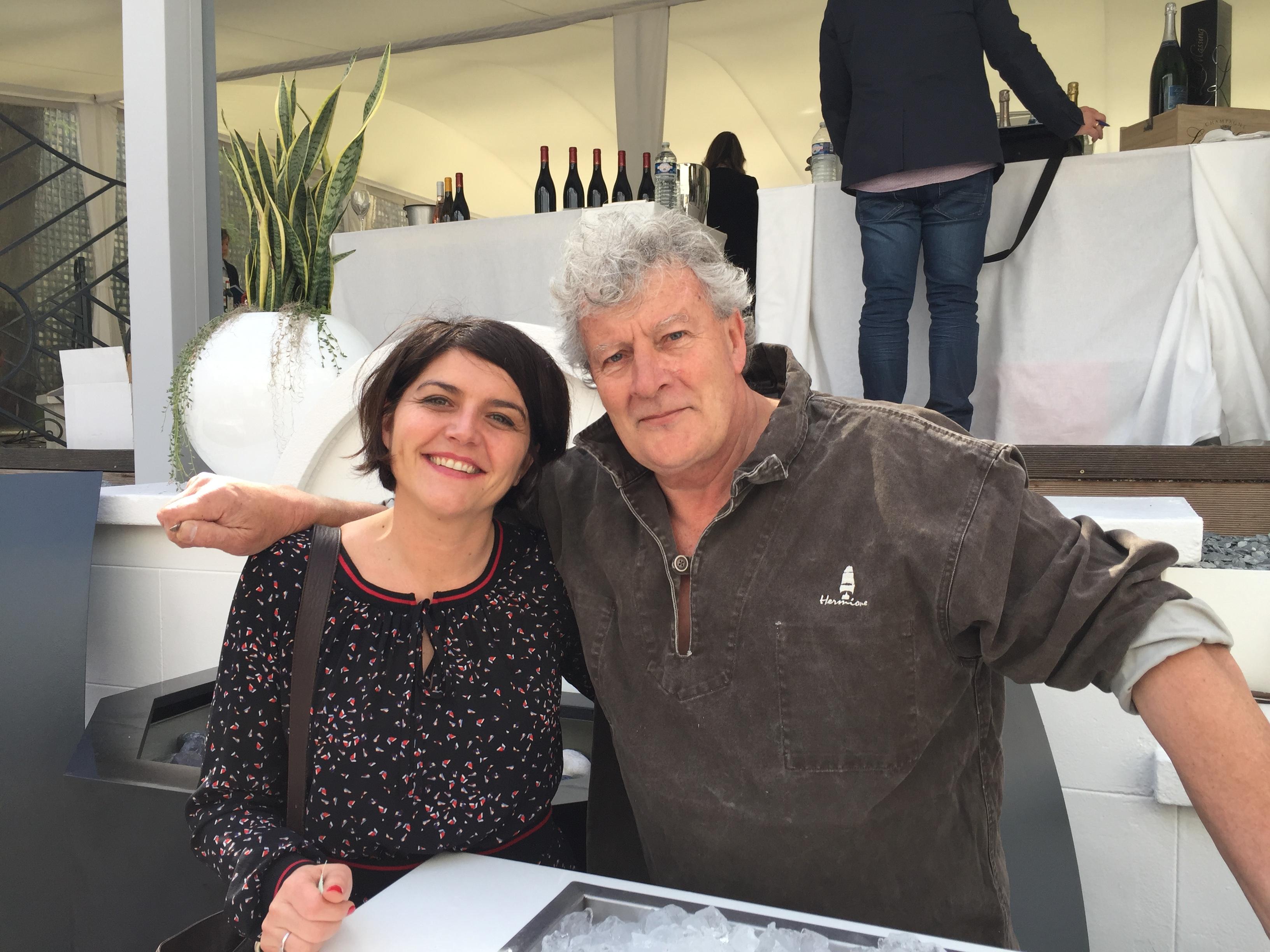 Joël Dupuch et Laetitia Ouspointour