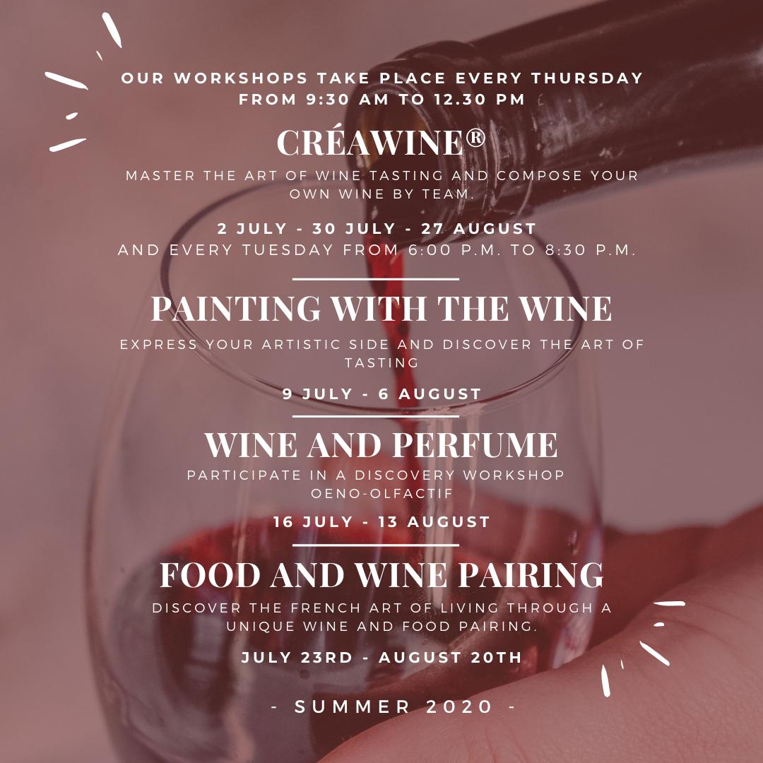 Our summer program L.O Wine