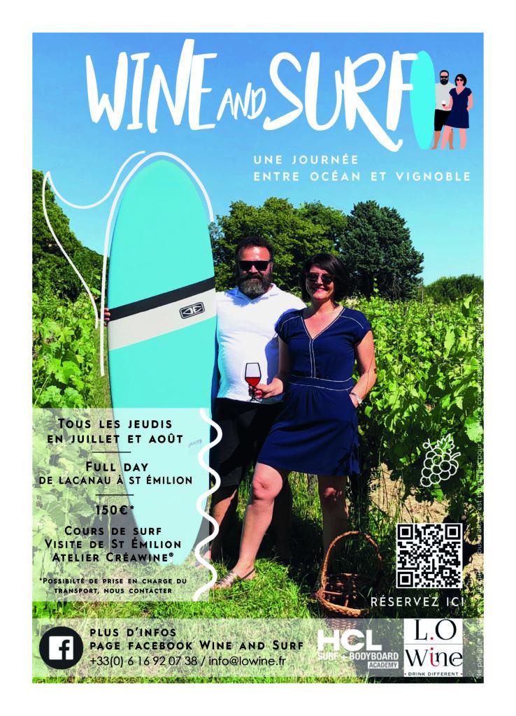 Wine and Surf L.O Wine